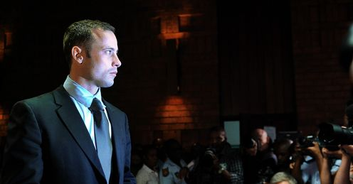 Oscar Pistorius granted bail as he awaits trial after being accused of the murder of his girlfriend