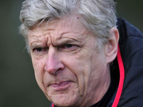 Wenger: Hoping his side can still achieve a top-four finish