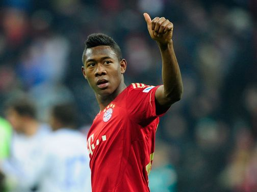 David Alaba  scored two goals in Bayern Munich's victory