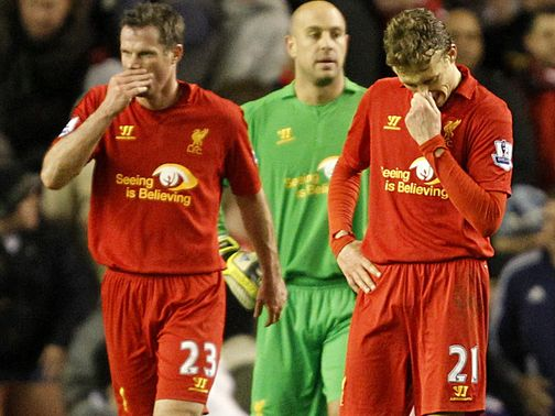 Jamie Carragher: Frustrated after Zenit defeat