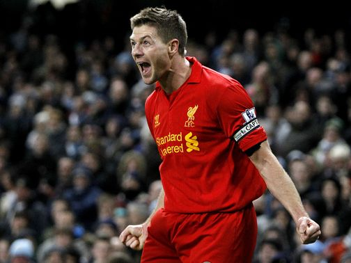 Steven Gerrard's goal ensured Liverpool gained a point