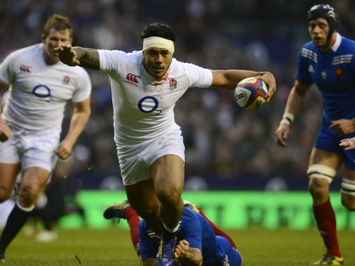 Tuilagi scores England&#39;s try