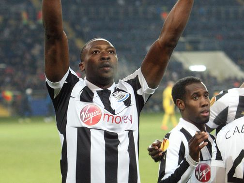Shola Ameobi: Could make 50th European appearance