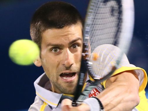 Novak Djokovic: Through in straight sets