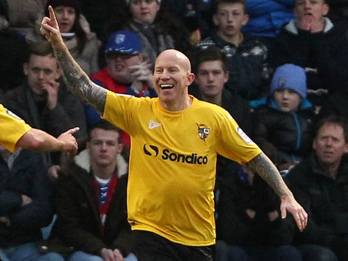 Lee Hughes: On target in Vale&#39;s win over AFC Wimbledon