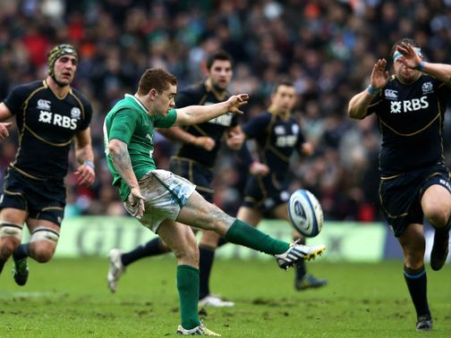 Paddy Jackson: Competing for fly-half slot