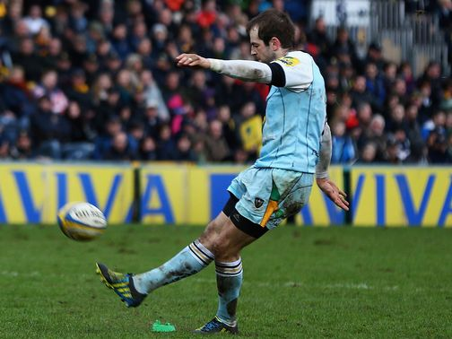 Stephen Myler: Kicked five penalties and a conversion for a 17-point haul