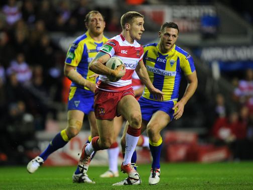Sam Tomkins: Could face a lengthy spell on the sidelines
