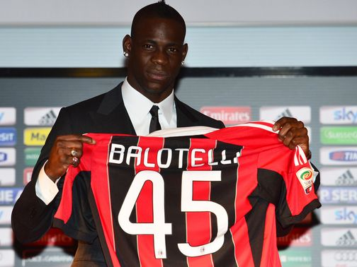 Mario Balotelli: Left Man City on deadline day