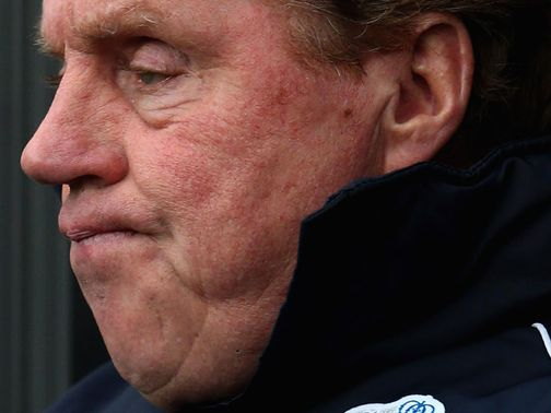 Redknapp: Doesn't fear for QPR's future