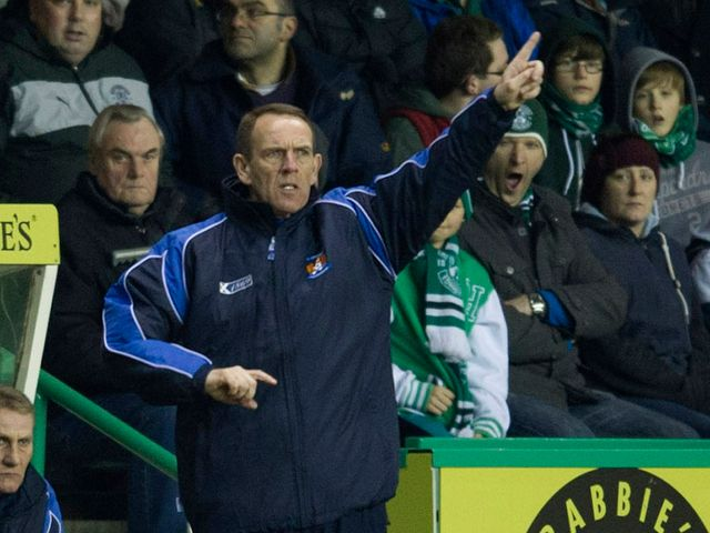 Kenny Shiels: Saw his side draw at Hibernian