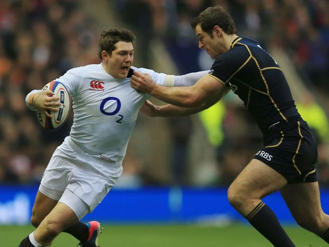 Alex Goode during England's win