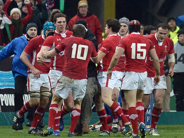 Time to celebrate for Wales in Paris