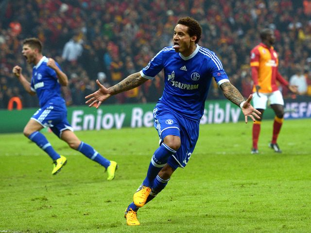 Jermaine Jones scored Schalke's equaliser at Galatasaray