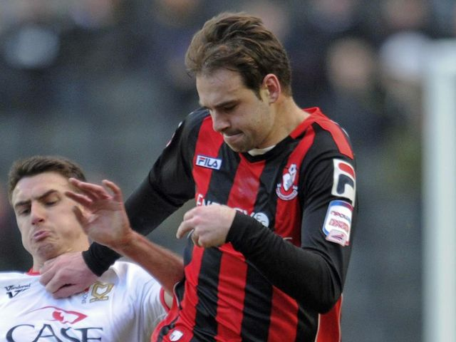 Brett Pitman: Scored twice from the spot for Bournemouth
