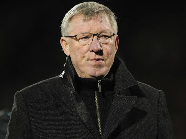 Ferguson: Pleased with the position his team are in