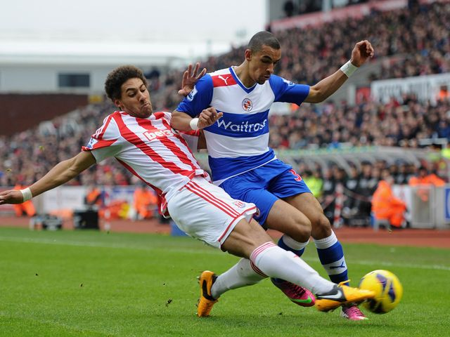 Ryan Shotton slides in to tackle Nick Blackman