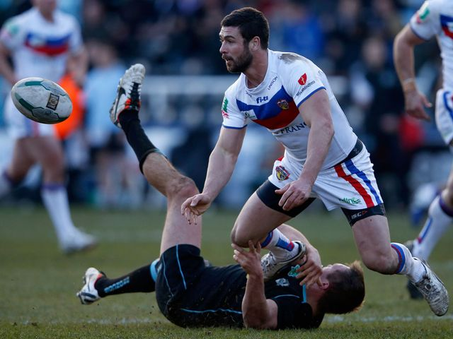 Richard Mathers: One of Wakefield's try scorers