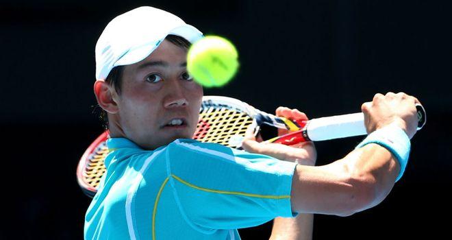 Kei Nishikori: Claimed the ATP Memphis title in straight sets