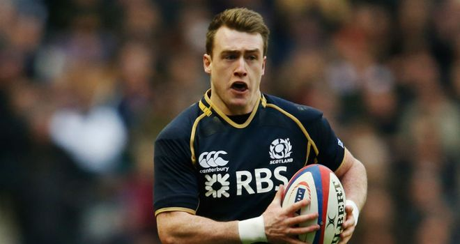 Stuart Hogg: Happy to continue in the full-back role for Scotland