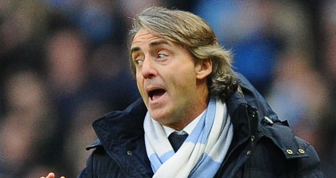Roberto Mancini: Has seen City&#39;s title hopes fade this season
