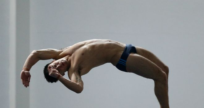 Tom Daley: overcame illness to take British 10m platform title