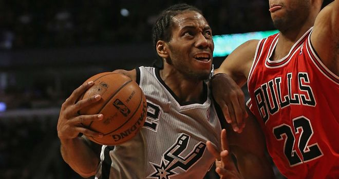 Kawhi Leonard hits career best for San Antonio Spurs