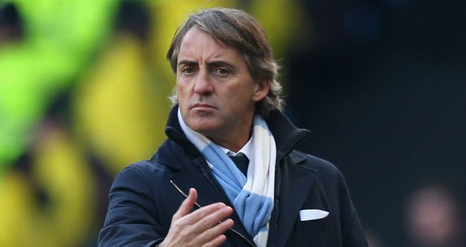 Roberto Mancini: Critical of his players