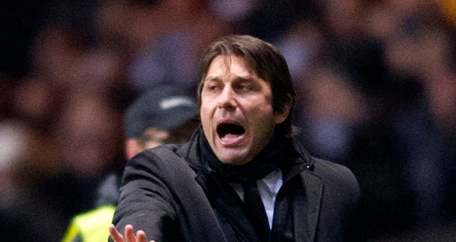 Antonio Conte: Amazed by the atmosphere inside Parkhead