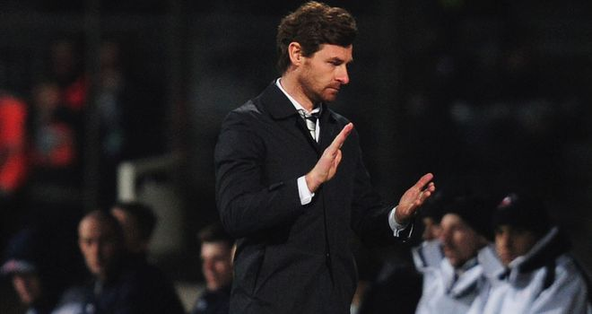 Andre Villas-Boas: Tottenham boss hopes to turn the screw on Arsenal