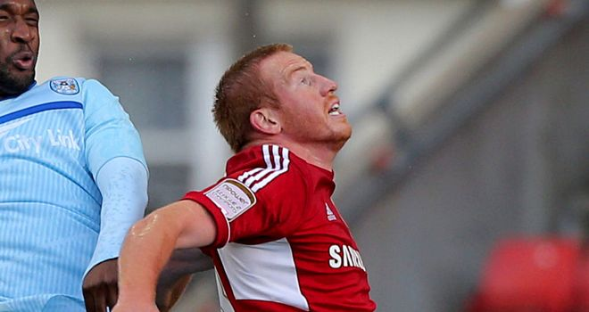 Adam Rooney: Rescued a share of the spoils