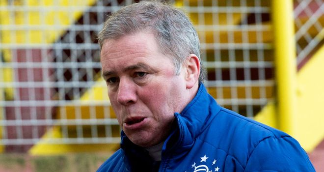 Rangers manager Ally McCoist is open on the club's financial struggles
