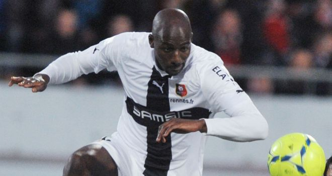 Alou Diarra: Has been loaned to Rennes until the end of the season