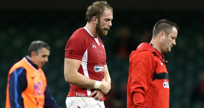 Alun Wyn Jones: Top candidate, says Martin Johnson