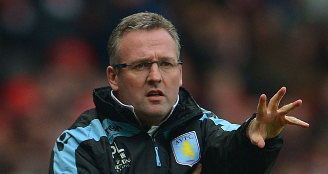 Paul Lambert: The Villa boss wants to beat Manchester City