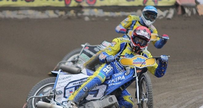 Artur Mroczka: Has re-signed for Belle Vue (Pic credit Fotospeedway.pl)