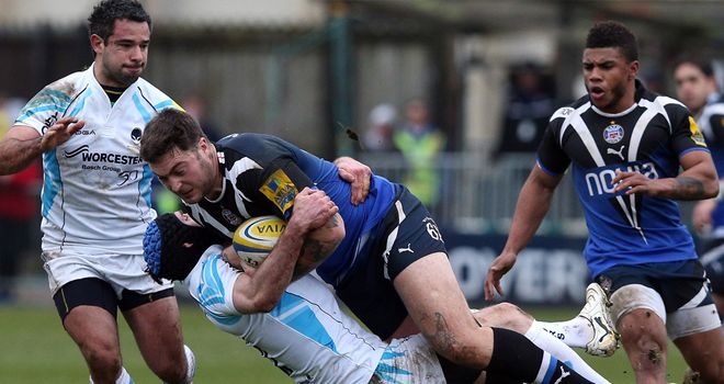Matt Banahan: Bath centre stopped in his tracks