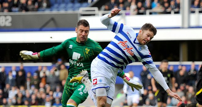 Jamie Mackie won QPR's penalty which was missed by Adel Taarabt
