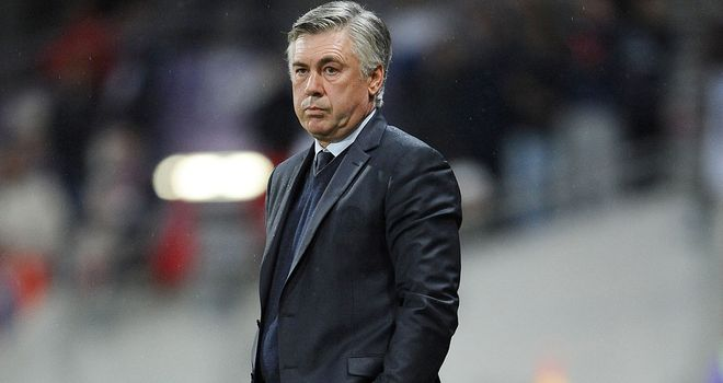 Carlo Ancelotti: His side could go six points clear on Friday