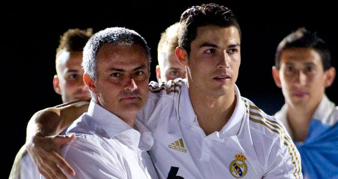 Cristiano Ronaldo (r): Unsure about and Jose Mourinho's future