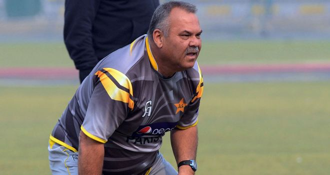 Dav Whatmore: Pakistan coach saw his side bowled out for 49