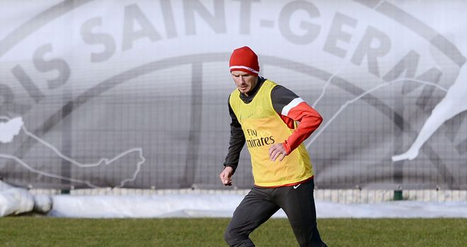 David Beckham: Former England captain trains with PSG