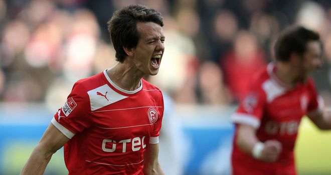 Robbie Kruse: On target in Fortuna success