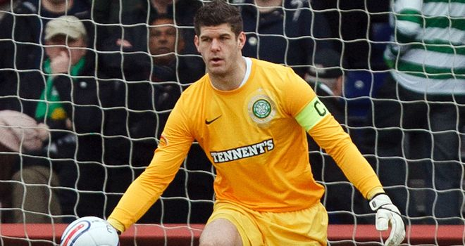 Fraser Forster: Excited about Celtic's Champions League game against Juventus