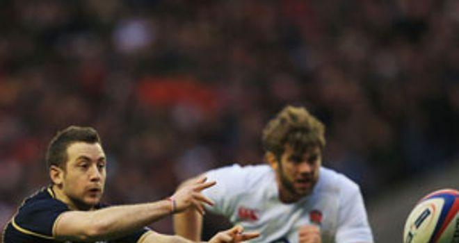 Greig Laidlaw: Impressed at scrum-half against England