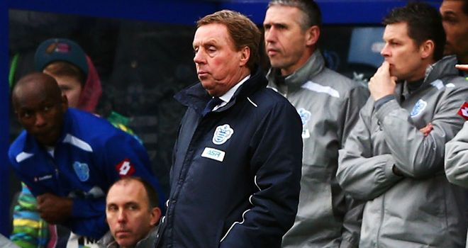 Harry Redknapp remains positive despite dropping two points at home
