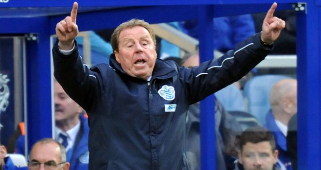 Harry Redknapp: Remains confident he can turn things around at QPR