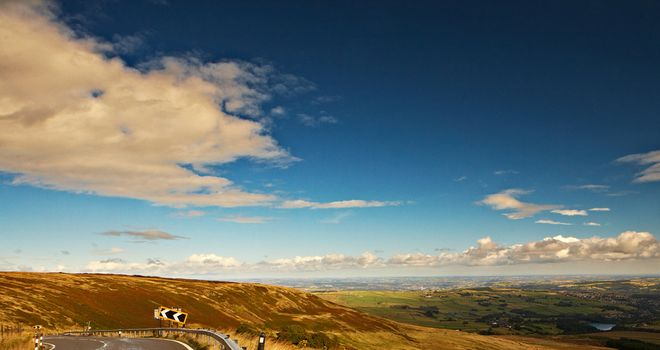 Holme Moss will provide a stern test on the Tour de France's second day in Yorkshire. Picture: www.yorkshire.com