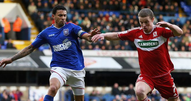 Carlos Edwards: Scored the only goal as Ipswich beat Bolton