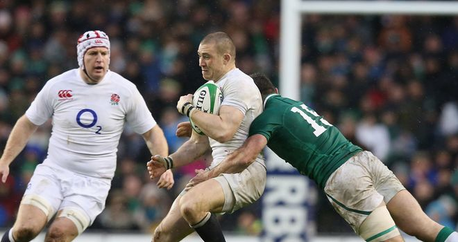 Mike Brown enjoyed another solid game in England's victory over Ireland